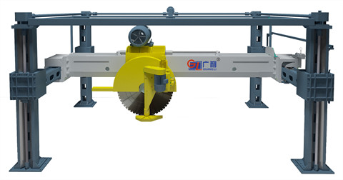 JSZS160四柱式双向锯石机